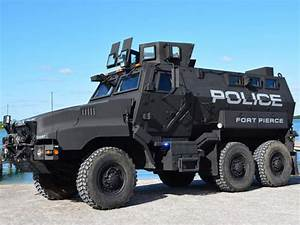 Fort Pierce Police Department unveils new armored vehicle ...