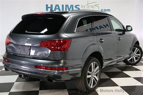 2014 Used Audi Q7 Quattro 4dr 30t Premium Plus At Haims