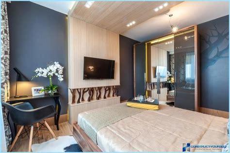 Skandināvu stila guļamistabas interjers
