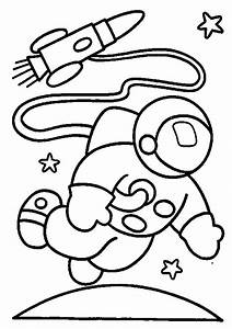 Astronaut Space Suit Coloring Page - Pics about space