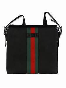 773cc0d097136b Gucci Messenger Bag. lyst gucci flap messenger bag in black for men ...