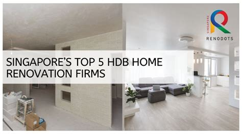 This is why it's a good idea to scout around. HDB Renovation Contractor and Their Reviews in Singapore