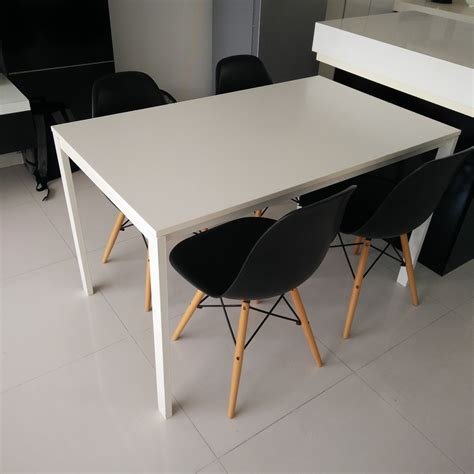 Melltorp Tisch Ikea by Melltorp Table And Chairs Wallpaperall