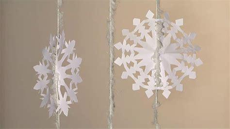noel d 233 co decoration flocon de neige en papier diy my crafts and diy projects