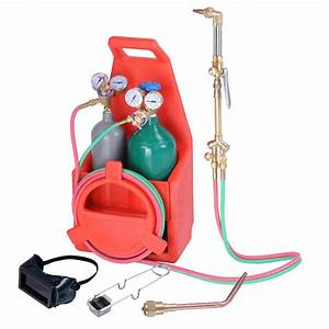 Professional Portable Weld Tank Torch Kit Oxygen Acetylene
