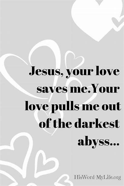 God His Always Rescue Jesus Lord Mylife