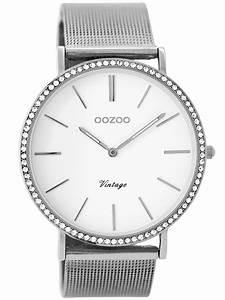 Vintage Uhren Damen : oozoo damen armbanduhr vintage silber wei 40 mm c8890 ~ Watch28wear.com Haus und Dekorationen