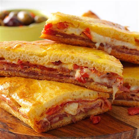 backyard bowl antipasto sandwiches recipe taste of home