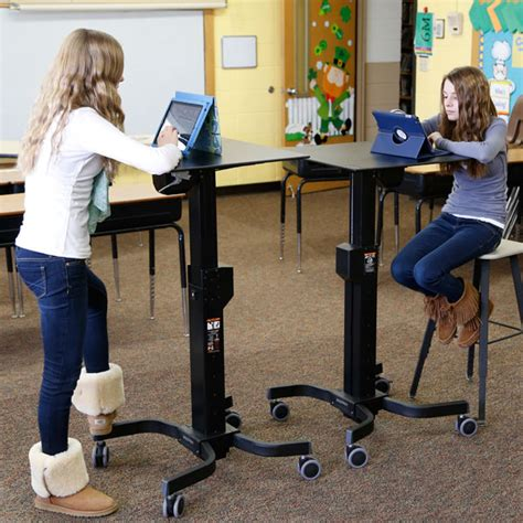 stand up desks for students the ergodirect