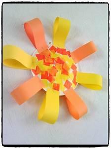 Activite Enfant 1 An : bricolage soleil maternelle my blog ~ Melissatoandfro.com Idées de Décoration