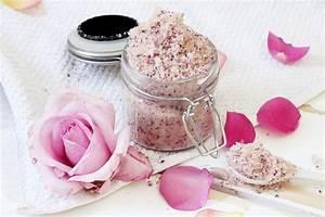 Etiketten Selber Machen : diy k rperpeeling mit rose mandel duft selbermachen ~ Michelbontemps.com Haus und Dekorationen