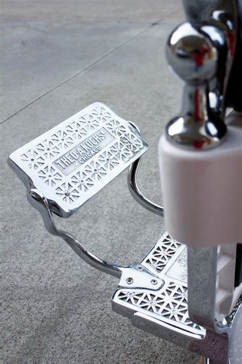 Theo A Kochs Barber Chair by Handmade Restored Theo A Kochs Barber Chair By Custom