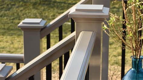 vinyl railing posts caps best railing vinyl deck railing pvc railing deck railing system azek