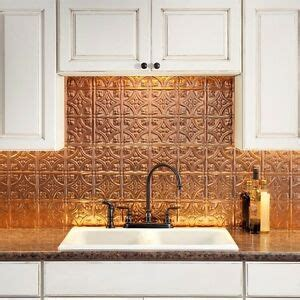 Kitchen Backsplash Kits by Backsplash Panel Kit Kitchen Bathroom Polished Copper