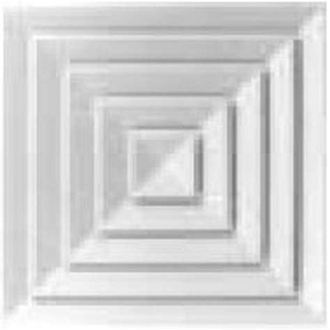 galc4dp wh 595x595 ceiling tile diffuser white w