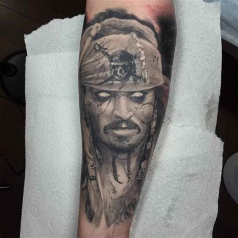 undead jack sparrow tattoo  tattoo ideas gallery