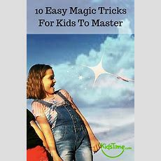10 Easy Magic Tricks For Kids To Master