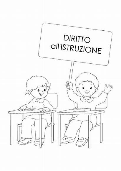 Bambini Diritti Dei Schede Scuola Dell Infanzia