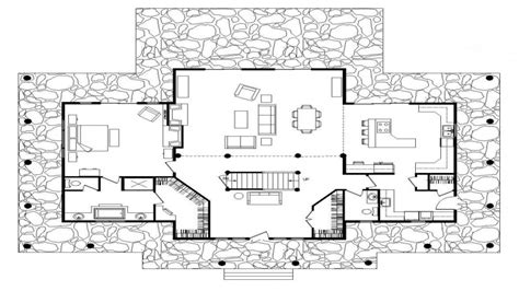 simple log cabin floor plans rustic log cabin wood floors log home floor plan treesranchcom