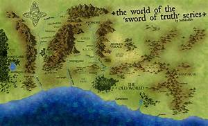 The World Map of The Sword of Truth Series | The Sword of ...