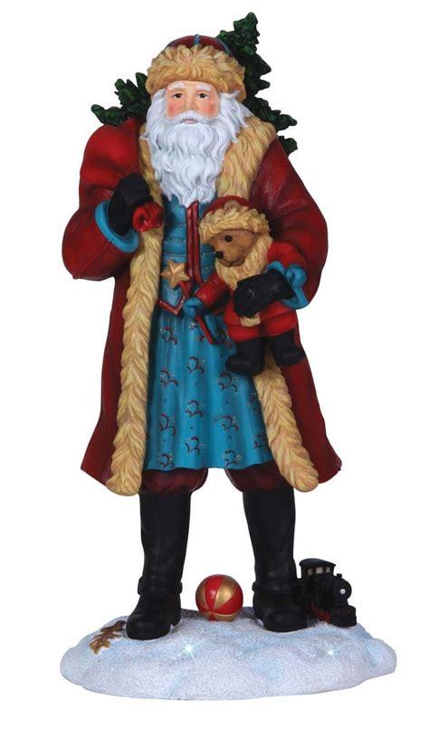 pipka santas images  pinterest santa figurines