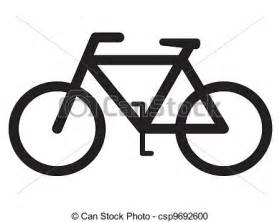Bicycle Silhouette Clip Art