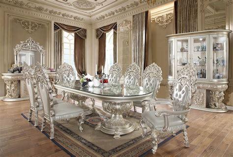 homey design hd  long prosper formal dining room set