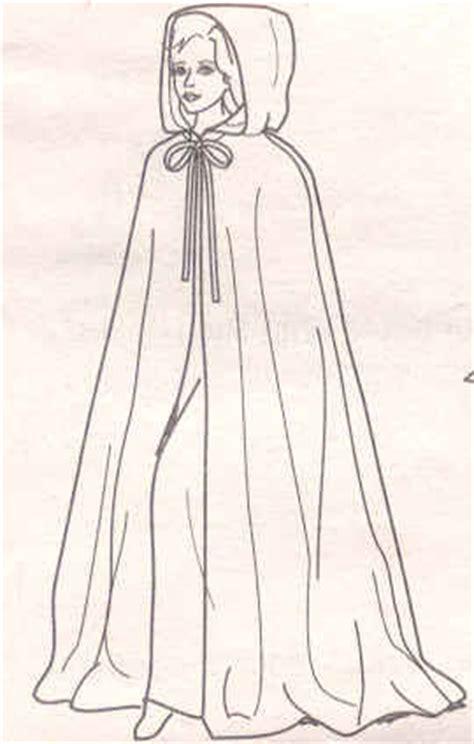schnittmuster umhang mit kapuze schnittmuster f 252 r mittelalterlichen umhang kleidung kost 252 m mittelalter