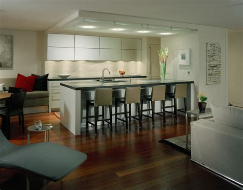 ceiling soffit lighting kitchen contemporary
