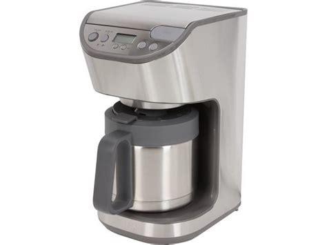 krups ktd stainless steel coffee maker neweggcom