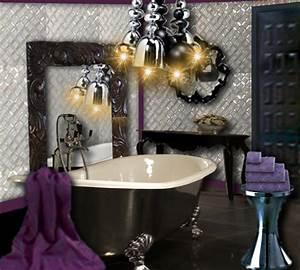 Objet Deco Salle De Bain : salle de bain baroque floriane lemari ~ Teatrodelosmanantiales.com Idées de Décoration
