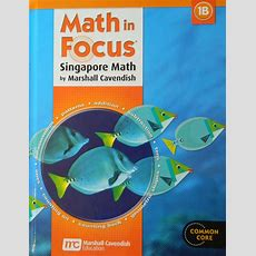 Math In Focus Singapore Math Student Textbook Grade 1 B **2013 Edition** 547876424 Ebay