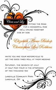 wedding on pinterest 43 pins With harley davidson wedding invitations free