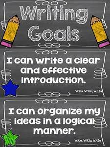 Levels Chart Writing Goals Clip Chart 4th Grade By Runde 39 S Room Tpt