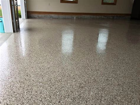 Epoxy Flake Garage  Sure Seal  Fostoria, OH