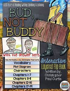 Bud  Not Buddy Novel Study Literature Guide Flip Book