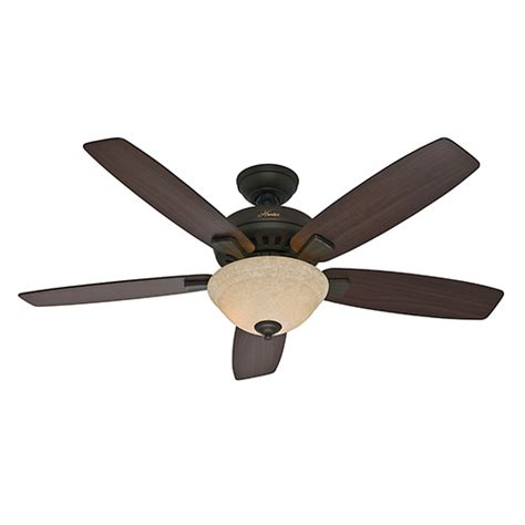 52 inch ceiling fan hunter fans banyan new bronze two light 52 inch ceiling