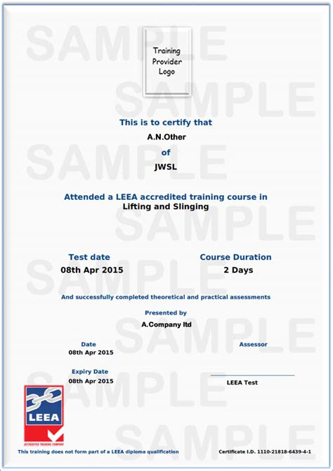 leea accredited user training