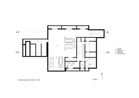 floor plans architecture gallery of house m monovolume architecture design 42