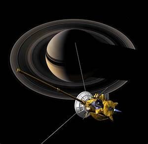 Cassini: The Grand Finale: Cassini at Saturn View 5