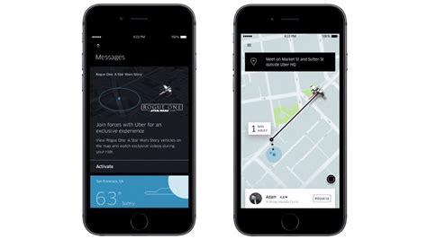 Disney cria o lado Uber da força para lançamento de Rogue ...