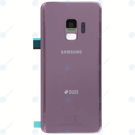 Samsung Galaxy S9 Duos Sm G960fd Battery Cover Lilac Purple Gh82 15875b