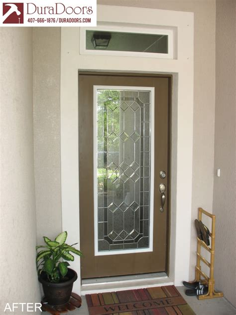Majestic Glass With Nickel Caming  Duradoors