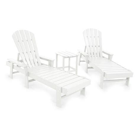 chaise adirondack polywood south 3 adirondack set the rocking
