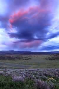 Yellowstone National Park Beautiful Sunsets