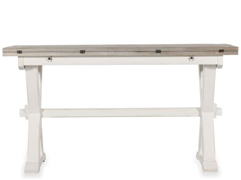 Mathis Brothers Sofa Tables by Drop Leaf Console Table Mathis Brothers