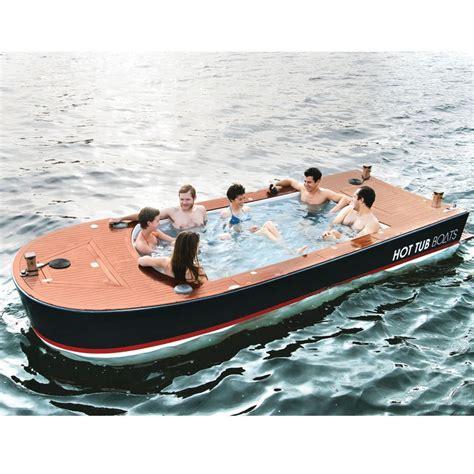 tub boat price the tub boat hammacher schlemmer