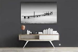 Tableau Photo Noir Et Blanc : tableau noir et blanc decors muraux design izoa ~ Melissatoandfro.com Idées de Décoration