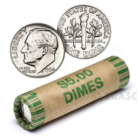 roll of dimes buy 90 silver roosevelt dime roll 50 coins 90 percent silver 90 silver dimes buy gold