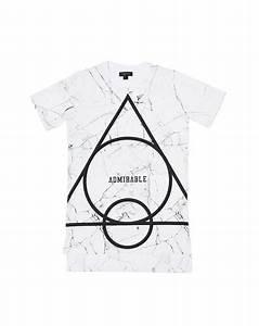 White Marble All Tshirt